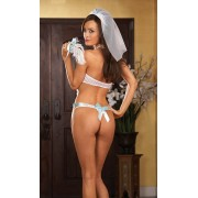 Marry Bridal Halter Apron
