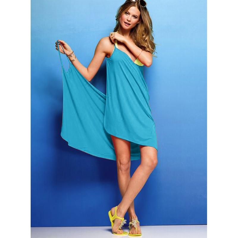 Пляжное платье из платков своими руками