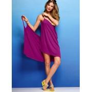 Elegant purple beach wrap
