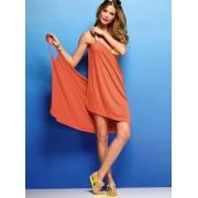 Tangy orange beach wrap