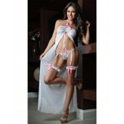 Provocative Teddy Gown